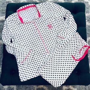 Victoria's Secret Cotton Flannel Pajamas XL